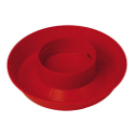 Quart Size Screw On Plastic Waterer Base 740