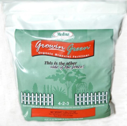 Medina® Growin Green Organic Fertilizer 4-2-3