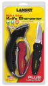 Quick Edge Knife Sharpener and Lockback Knife Combo