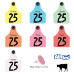 Allflex® Global Large Female Ear Tag GLF/GSM  - Coastal Ag Supply
