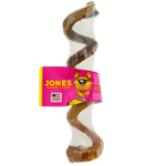 Jones® Natural Chews Beef Curly Q Pizzle - Coastal Ag Supply