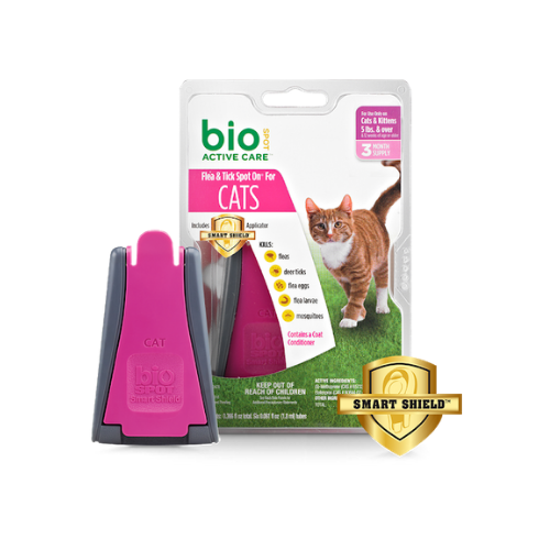Bio Spot Active Care™ Flea & Tick Spot On® for Cats