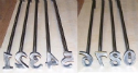 Brama Livestock Branding Iron Number Set - Coastal Ag Supply