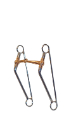 "CP MI Long Shank Snaffle 5"" Copper Mouth/9"" Cheek - Coastal Ag Supply"
