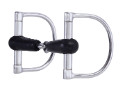 "CP MI Racing Dee Bit 5"" Rubber Snaffle Mouth/ 3"" Dees - Coastal Ag Supply"
