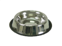 Valhoma® Stainless Steel Non-Tip Bowl - Coastal Ag Supply
