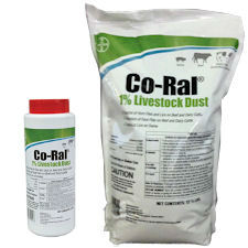 Co-Ral® 1% Livestock Dust