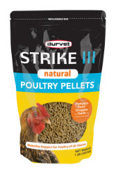 Durvet® Strike III Natural Poultry Pellets - Coastal Ag Supply