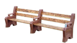 High Country Plastics™ Bench Legs - Coastal Ag Supply