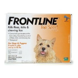 FRONTLINE Top Spot® for Dogs - Coastal Ag Supply