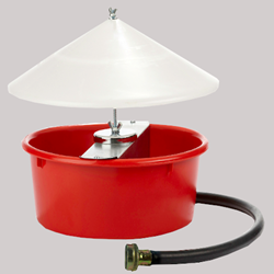 Little Giant® Automatic Poultry Waterer with Cover - Coastal Ag Supply